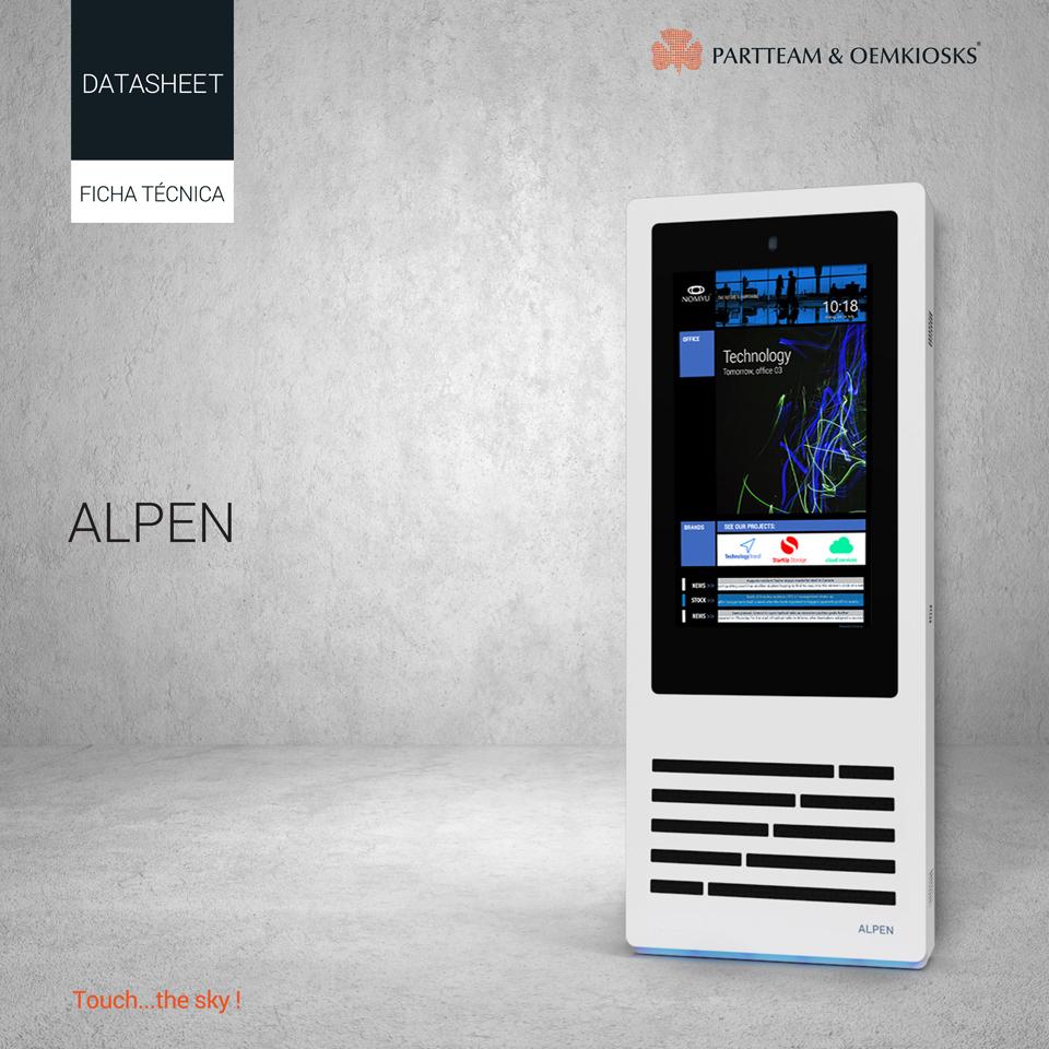 partteam_oemkiosks_alpen Datasheet