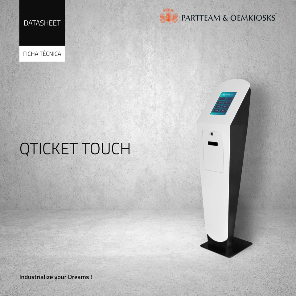 partteam_oemkiosks_qticket_touch Datasheet