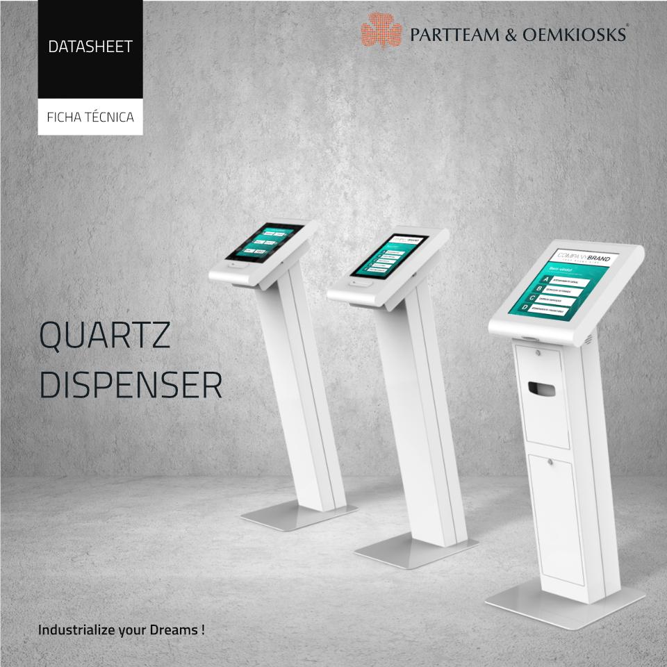 partteam_oemkiosks_quartz_dispenser Datasheet