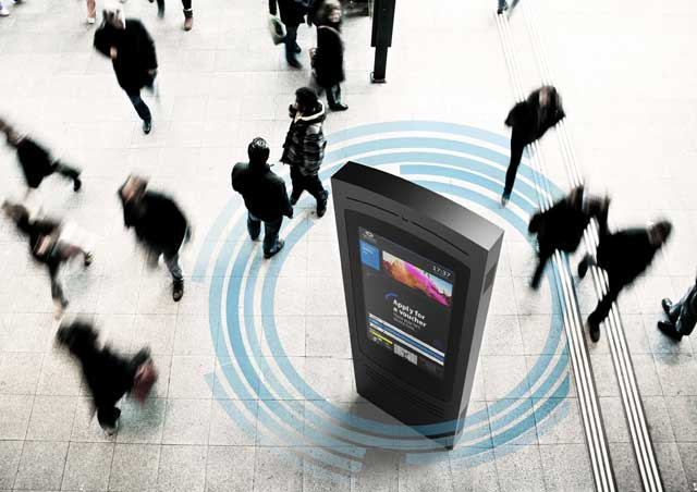 Digital Network Of Wifi Billboard
