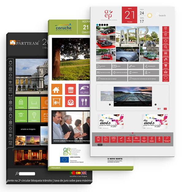 YPortal Software Layouts